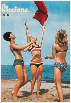Vintage Poster Riccione #Vintage #Poster #Art #Print #Retro #Places #Advertising #affiches #ancienne #publicité #laminas #antiguas #Riccione Retro Posters, Poster Vintage, Vintage Travel Posters, Uss America, Poster City, Art Challenge, Beautiful Places To Visit, Vintage Advertisements, Italy Travel