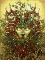 Triple goddess by ~benu-h on deviantART