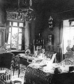 "The interior of Maliy Palace at Luvadia in the Crimea. ""AL"""