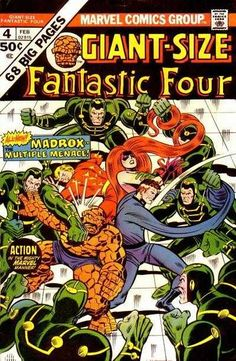 Giant-Size Fantastic Four #4 - Madrox the Multiple Man!; We Have to Fight the X-Men! (Issue)