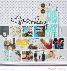 Ali Edwards' Week in the Life project has been going on this week and Studio Calico asked me to play along this year by completing a day in the life spread to share on their blog. They've been sho...