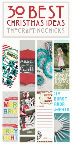 The Crafting Chicks--Amazing website for DIY and Craft ideas! #DIY