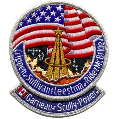 Space Projects, Space Crafts, Challenger Crew, Space Patch, Nasa Patch, Air Force Patches, Nasa Missions, Velcro Patches, Space And Astronomy