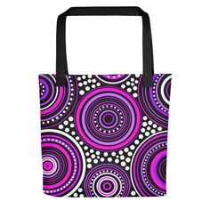 Mandala Lila by johannadesign Online Printing, Reusable Tote Bags, Deco, Unique, Design, Lilac, Mandalas, Decor, Deko