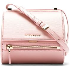 Givenchy Pink Leather Palma Pandora Box Mini Bag ($1,436) ❤ liked on Polyvore featuring bags, handbags, shoulder bags, purses, accessories, pink leather purse, leather purse, purse shoulder bag, leather handbags and handbags purses
