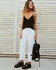 Spring Outfits, Trendy Outfits, Cool Outfits, Urban Fashion, Girl Fashion, Fashion Outfits, Looks Style, Casual Looks, Shops