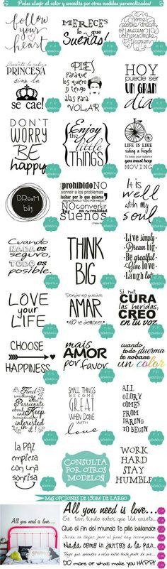 Frases de animo