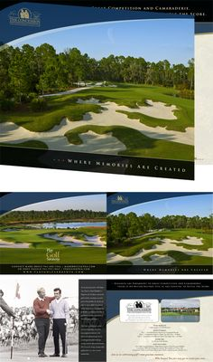 Client: Play Golf Sarasota / Project: The Concession Golf Club Brochure / Location: Bradenton, FL