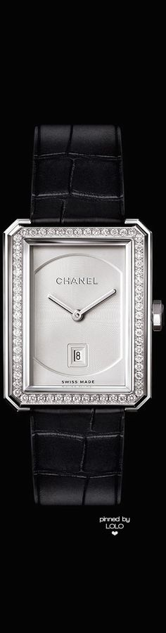 Chanel Boyfriend Watch | LOLO❤