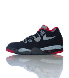 NIKE Lace up front closure Padded tongue with logo Air Jordan stitch design  on back Multi