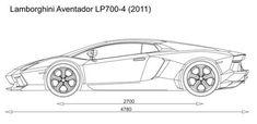 How to Draw Lamborghini Centenario Side View