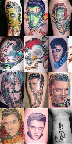 Elvis Tattoo Designs is this great little collection of Elvis Tattoo ...