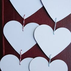 string of hearts by daisyley | notonthehighstreet.com