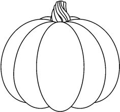 Pumpkin To Color Pumpkin black and white pumpkin with dotted lines clipart black and white free Pumpkin Drawing, Pumpkin Art, Pumpkin Crafts, Autumn Crafts, Fall Crafts For Kids, Autumn Art, Moldes Halloween, Easy Halloween Crafts, Pumpkin Template Printable