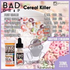 Bad Drip, Cereal Killer