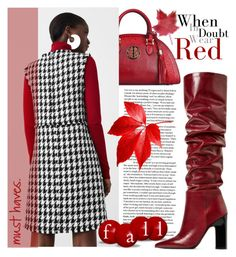 """""""Red"""" by samketina ❤ liked on Polyvore featuring MANGO"""