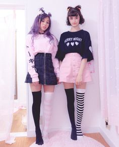 Pin by bianca rodriguez on kawaii clothes in 2019 pastell go Pastel Goth Fashion, Kawaii Fashion, Cute Fashion, Gothic Fashion, Fashion Models, Pastel Goth Style, Pastel Grunge, Fashion Fall, Pastel Pink