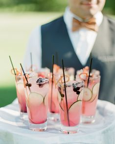 These swizzle sticks will elevate your signature cocktails. See our favorite designs for unique, personalized swizzle sticks, or cocktail stirrers, here. Cocktail Napkins, Cocktail Drinks, Lemonade Cocktail, Cocktail Desserts, Cocktail Recipes, Glace Fruit, Spicy Candy, Blush Rosa, Martha Stewart Weddings