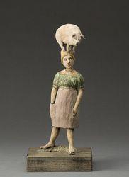 Julia Mulligan Ceramic Sculpture, Figures - Julia Mulligan