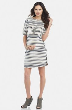 Tart Maternity 'Deavanny' Stripe Maternity Dress available at #Nordstrom