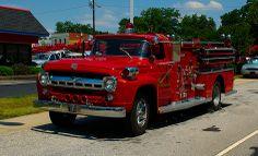 1957 f-500 Fire truck , pumper