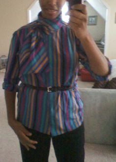 My favorite secretary blouse