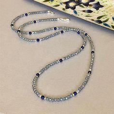 Diy Necklace, Stone Necklace, Pulseras Kandi, Beaded Jewelry, Handmade Jewelry, Beaded Lanyards, Face Masks For Kids, Diy Face Mask, Stone Beads