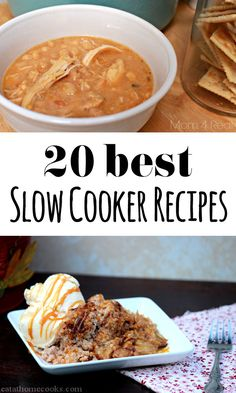 twenty great slow cooker recipes
