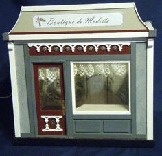 Gallery of Miniature Scale Room Boxes: A Roombox with French Touches