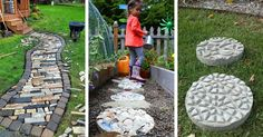 If you ever thought about a fancy garden pathway at affordable price look no more as these are the most creative ones.
