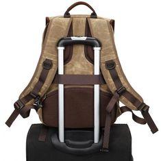 designer camera bags (2) Camera Backpack, Canvas Backpack, Laptop Backpack, Camera Bags, Canvas Book Bag, Rucksack Bag, Waxed Canvas, School Bags, Travel Bags