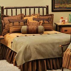Autumn Leaf Duvet Cover Collection - I like this for our bedroom, no moose, trees, bears, fish or ducks on it :)