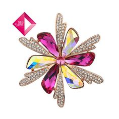 Aliexpress.com : Buy Neoglory Jewelry Christmas gift fashion rhinestone brooch for wedding invitations crystal flower brooches diamante jewelry pin from Reliable brooch suppliers on NEOGLORY JEWELRY