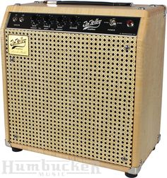 Jim Kelley Amplifier Limited Wood and Wicker Combo | Humbucker Music