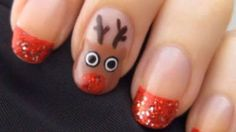 Holiday Reindeer Nail Art   www.youtube.com/cutepolish
