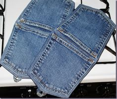 long denim potholder tutorial