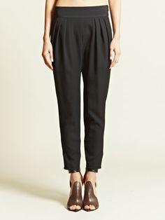 Givenchy Women's Pleated Harem Pants