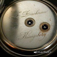 Traumhaft schöne und original erhaltene - Lepine Silber Taschenuhr - J. Zachrau Königsberg -      HERSTELLUNGSJAHR :   ca. 1880    Gehäuse :    Massives schlicht gehaltenes Gehäuse. Dieses ist im Scharnier Boden, punziert.