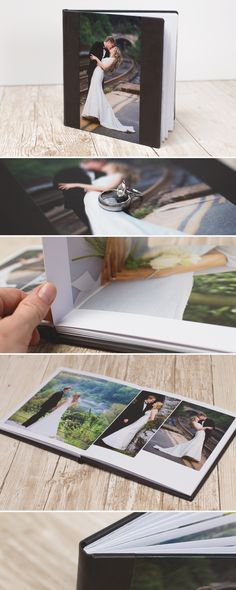 A wedding is one day, but photos last forever. Recreate that special moment and rediscover the magic you felt with your wedding day photo book.