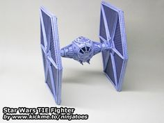 Star Wars TIE-fighter papercraft