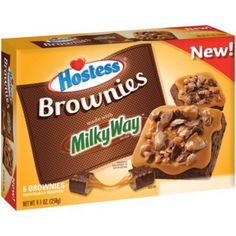 Hostess Milky Way Brownies 9.1 OZ (258g)