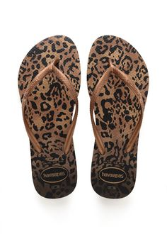 Havaianas Top Tropical NEW comfy Unisex FlipFlop beach sandals palm print