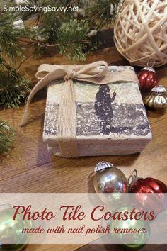 Photo Coaster DIY Gifts
