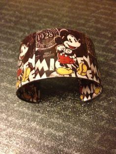 Mickey Mouse Cuff Bracelet