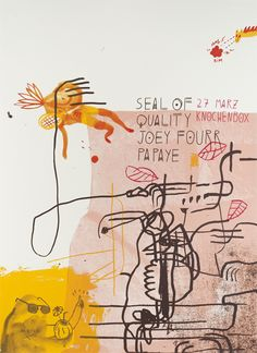 Papaye, Seal Of Quality, Joey Fourr - Palefroi - handcrafted books and art prints - silkscreen - berlin