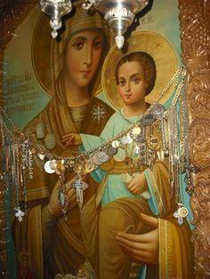 Η Κυρία Θεοτόκος η ''Λακκοσκητιώτισσα'' (Ιερά Μονή Αγίου Παύλου)  - Lady Theotokos Lakkoskitiotissa (Holy Monastery of Saint Paul)