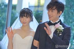 Engaged To Be Married, Takeru Sato, Japanese Characters, Nihon, It Cast, Engagement, Couples, Wedding Dresses, Heart