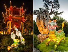 20130926 Jardin Botanique 549 Jardins de lumière à Montréal Canada, Decoration, Garden, Chinese Lanterns, Travel, Decor, Deko, Embellishments, Decorating