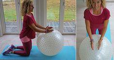Plocka genast fram din pilatesboll och ge den lite kärlek. Leila Söderholms spännande magövningar visar hur du kan träna magen på djupet med pilatesbollen.