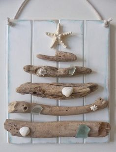 beachcomber driftwood christmas tree...this would be a perfect Christmas decor idea for here, and every year even AFTER we leave the island, I'll remember this season of our life:)                                                                                                                                                                                 More